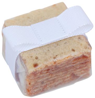 Mini bolo de rolo